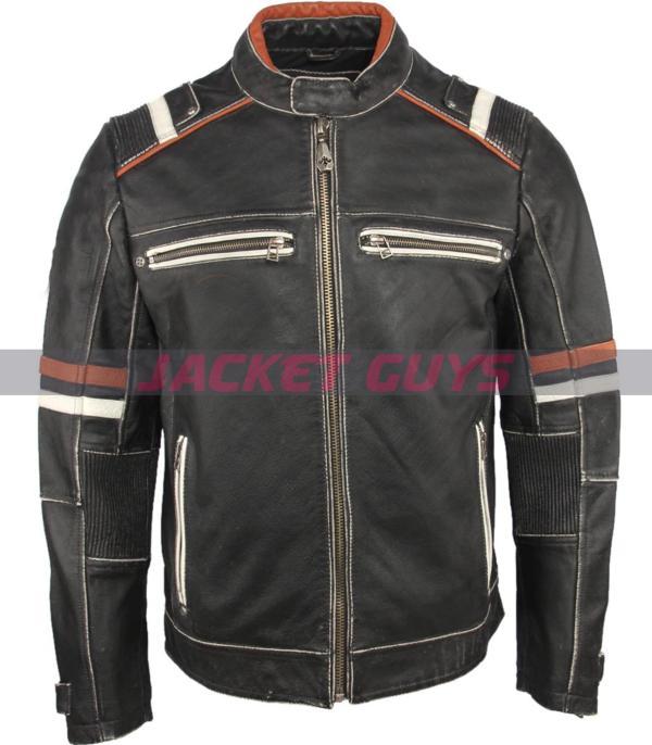 men cafe racer leather jacket buy now