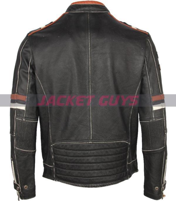shop now men cafe racer leather jacket