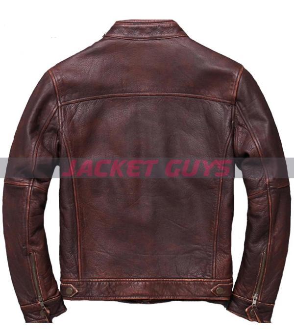 men's cowhide leather jacket on sale