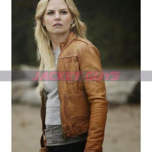 buy now jennifer morrison brown leather jacket