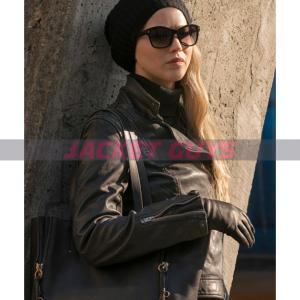 jennifer lawrence red sparrow leather jacket buy now