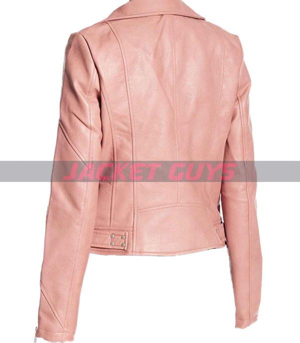 maria baez blue blood leather jacket for sale