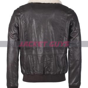 mens aviator leather jacket on sale