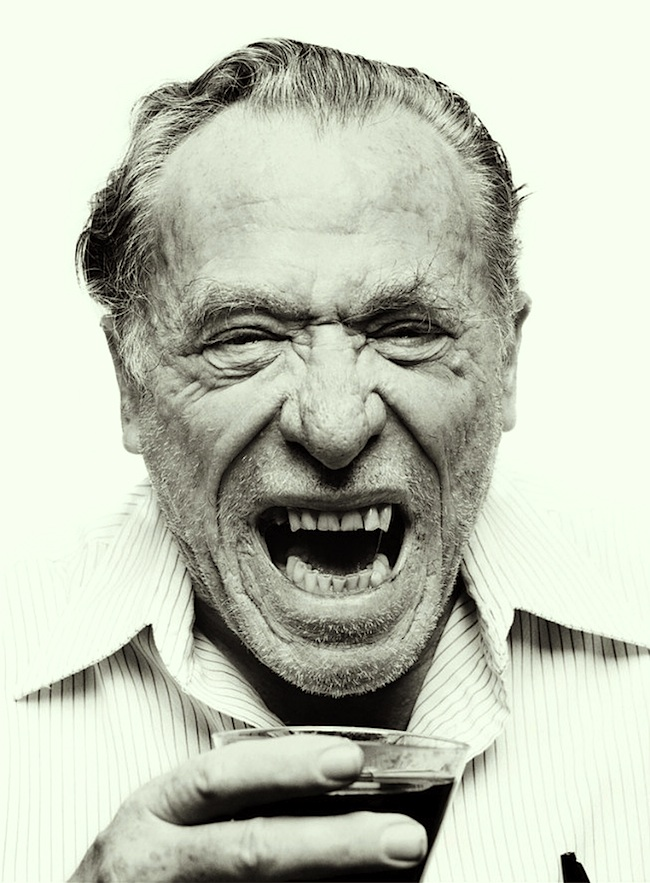 Bukowski Yelling