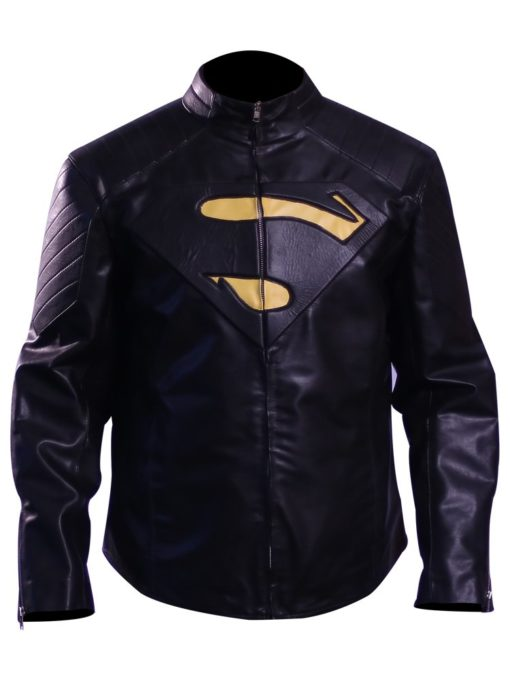 Red Leather Jacket Superman