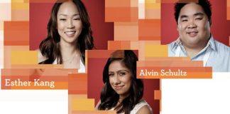 MasterChef contestants Esther Kang, Alvin Shultz & Suzy Singh