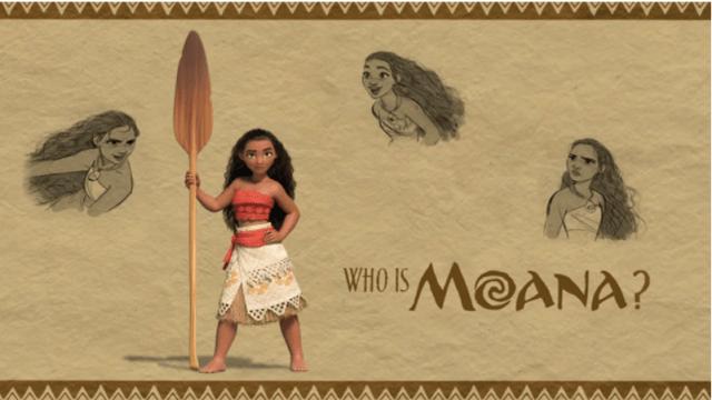 who is moana