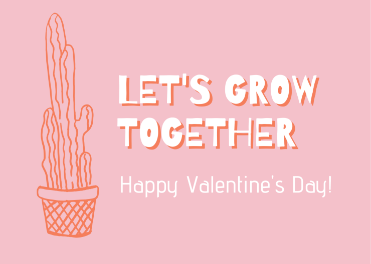 Valentine's Day Cards for Plant Lovers