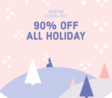 90% off holiday