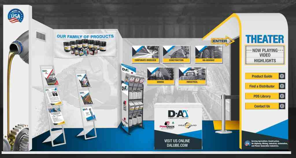 Link to D-A Lube Interactive Virtual Trade Show