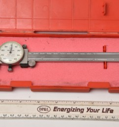 sold mitutoyo 6 dial caliper 001 good working condition 48 00 shipped sold starrett last word indicator  [ 1100 x 734 Pixel ]