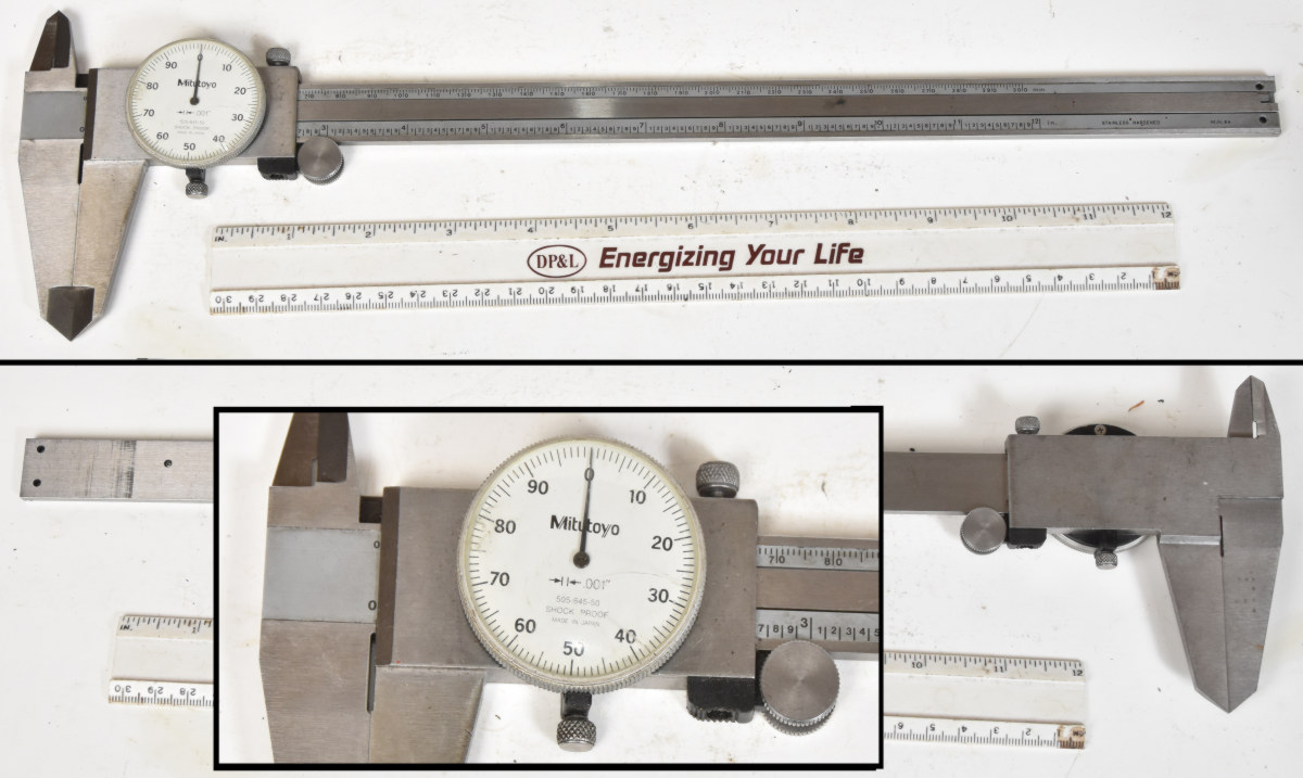 hight resolution of sold starrett 124 2 to 12 id micrometer nice condition box exterior is dirty 95 00 shipped