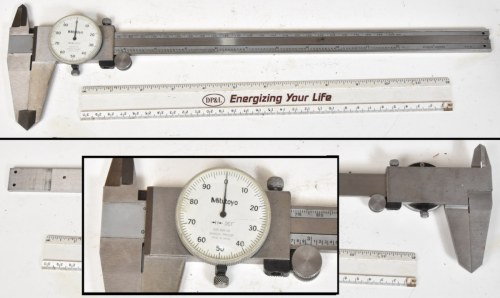 small resolution of sold starrett 124 2 to 12 id micrometer nice condition box exterior is dirty 95 00 shipped