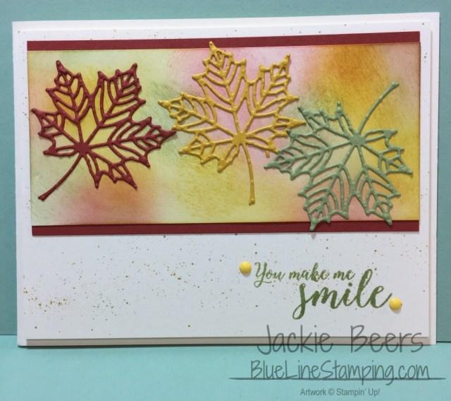 Stampin' Up! Colorful Seasons, Jackie Beers