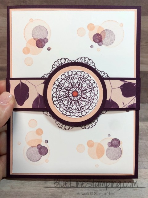 Stampin' Up!, Dear Doily, Beauty Abounds, Nature's Poem, Blackberry Bliss, Petal Pink, Jackie Beers