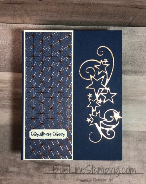 Stampin' Up!, Brightly Gleaming, So Many Stars, Itty Bitty Birthday, Copper Foil, Jackie Beers