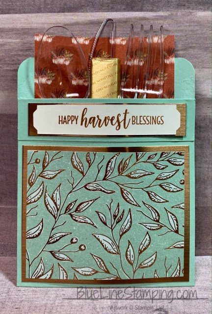 Stampin' Up!, Country Home, Gilded Autumn, Brushed Foil, Jackie Beers