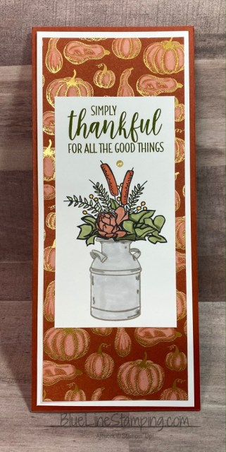 Stampin' UP!, Country Home, Gilded Autumn, Jackie Beers
