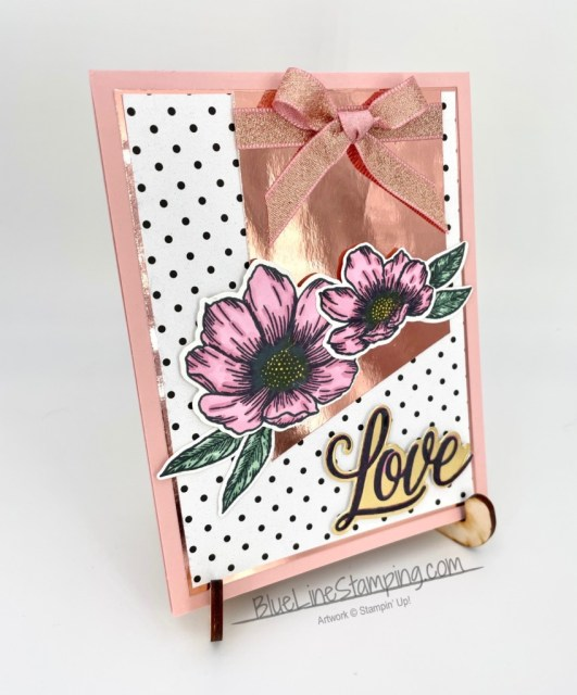 Stampin' Up!, Forever and Always, Metalic Ribbon, Love you always foil, true love , Jackie Beers