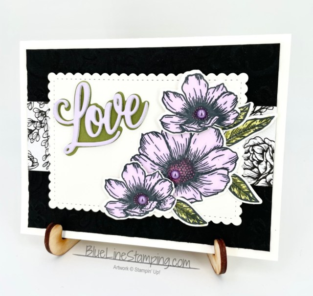 Stampin' Up!, forever and always, parisian flourish, true love, jackie beers