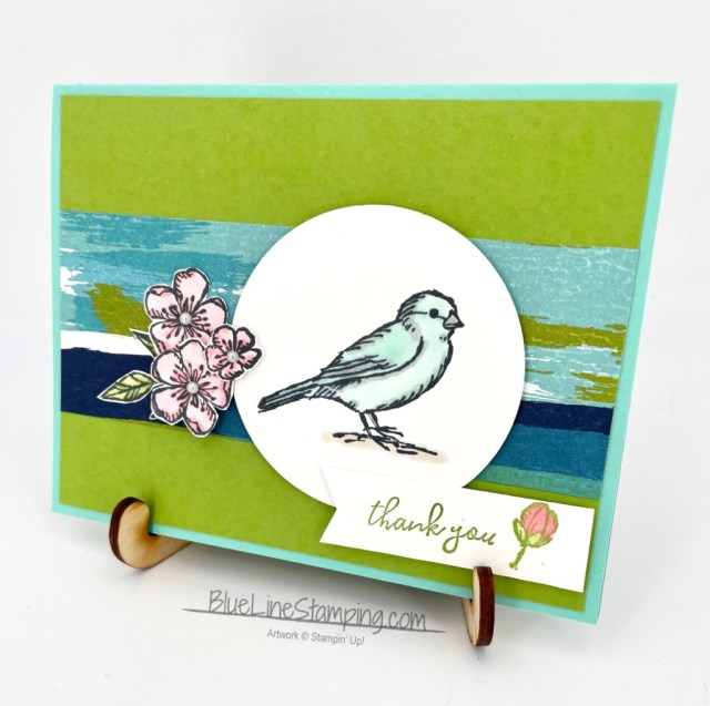 Stampin' Up!, Artistry Blooms, Free As A Bird, Jackie Beers
