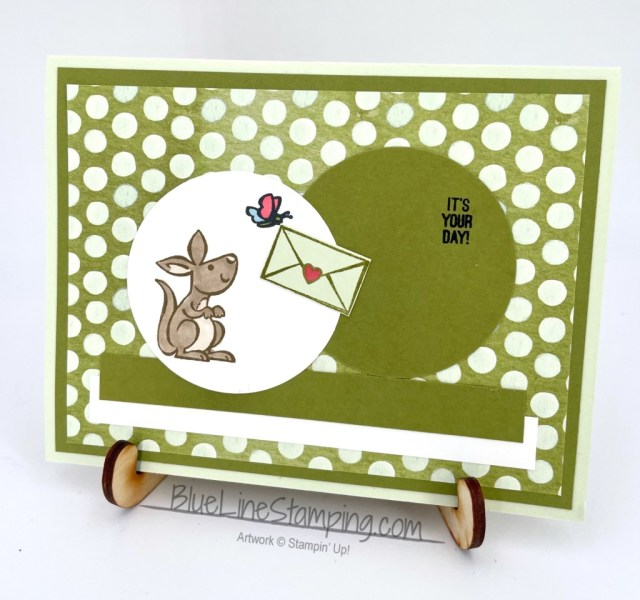 Stampin' Up!, kangaroo and company, jackie beers