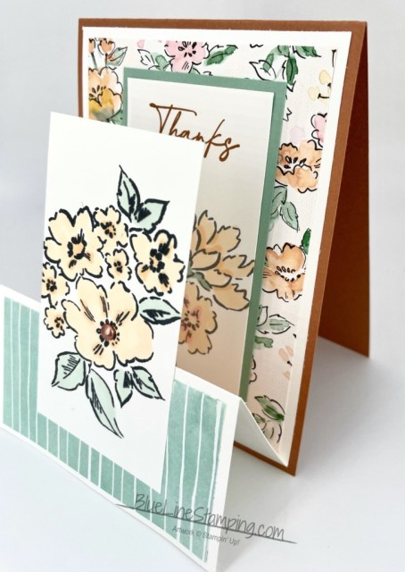 Stampin' Up!, Hand Penned, fun fold, Jackie Beers