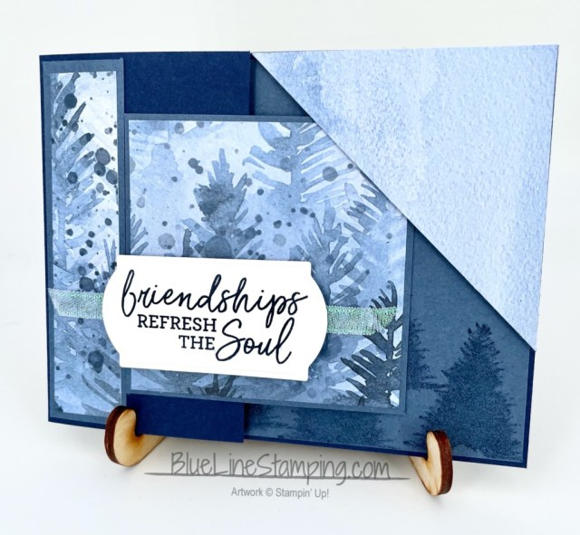 Stampin' Up!, Perfectly Plaid, Beauty of the Earth, Beauty of Friendship, Painted Labels, Jackie Beers