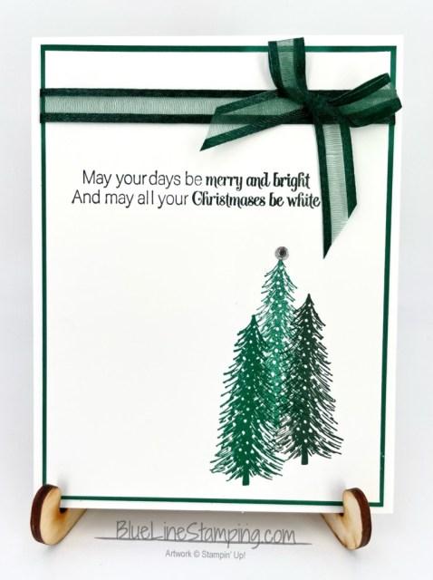 Stampin' Up!, Whimsical Trees, Merry Snowflakes, Jackie Beers