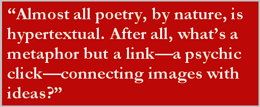 Poetry is Hypertextual