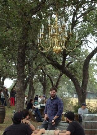 Tree chandelier!