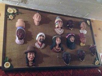 Shrunken head collection??