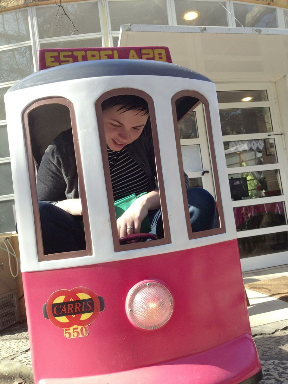 Zandy in za trolley