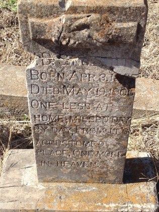 headstone for singleton