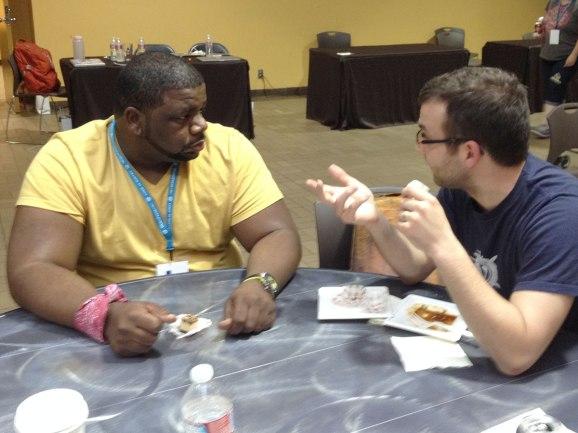 Corey and Nacin = serious bizness