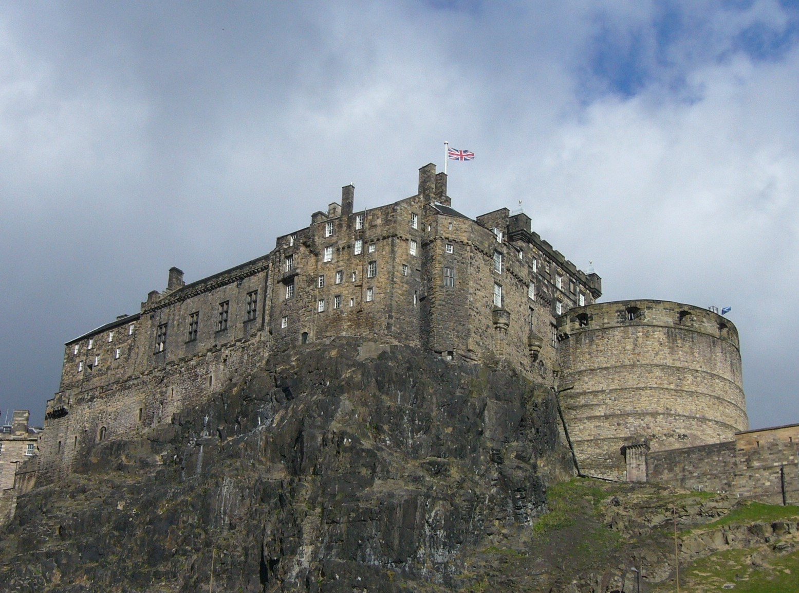 Edinburgh Castle. Source: Wikipedia