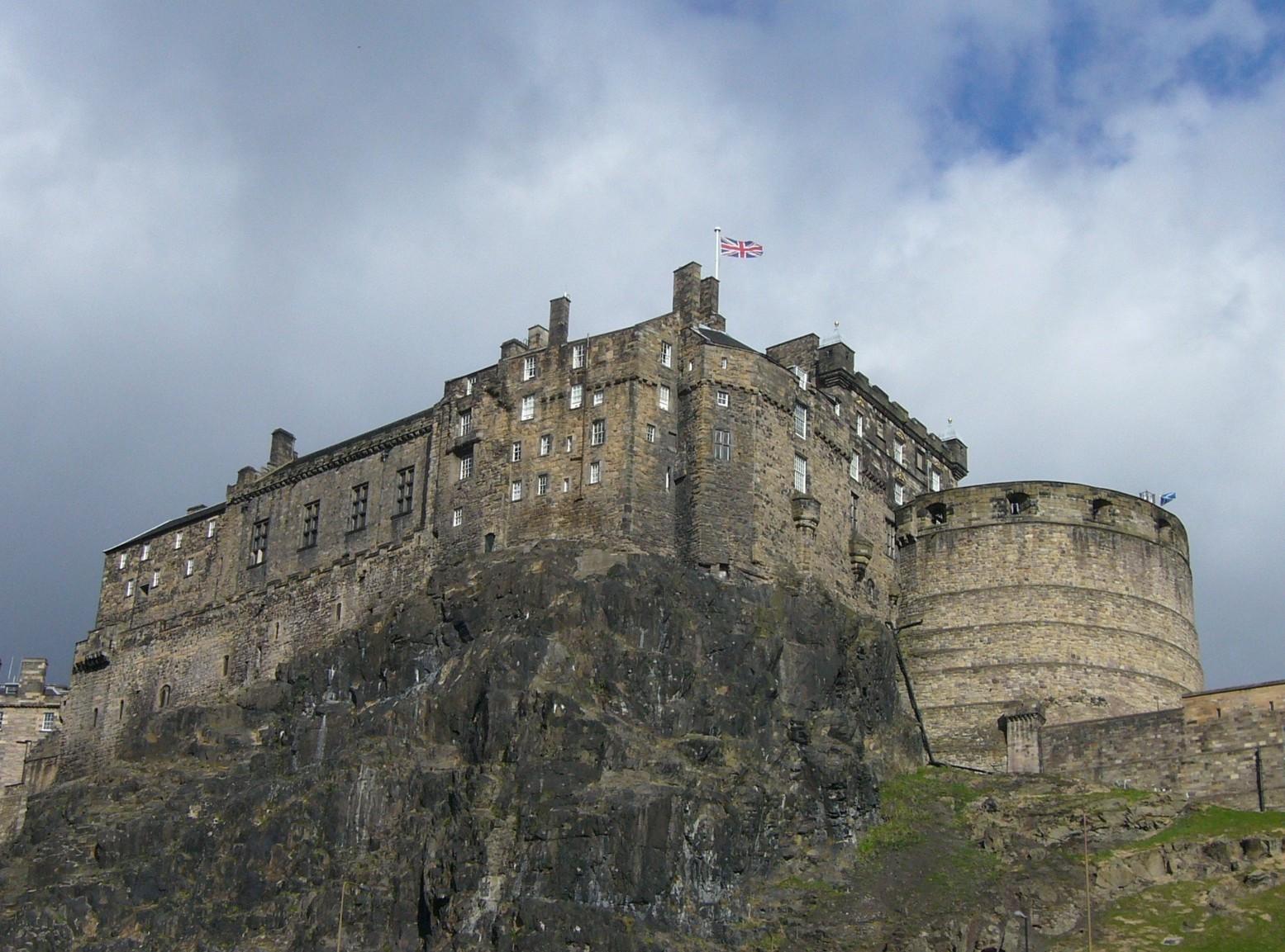 Edinburgh Castle. Source: Wikipedia