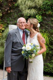 Bride-with-Grandpa-and-Bouquet-