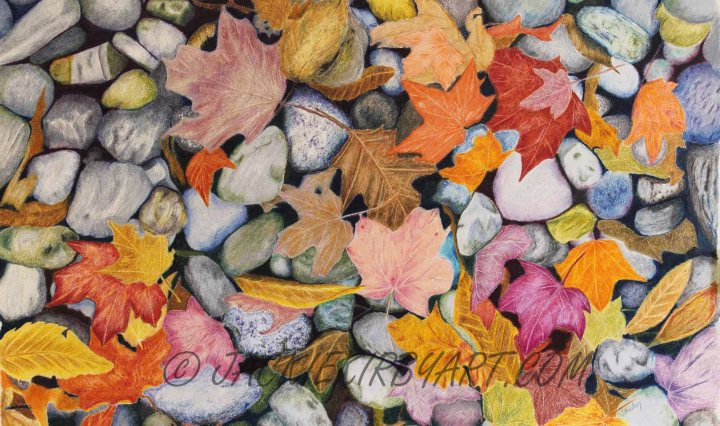 Leaves & Pebbles on Icarus Board