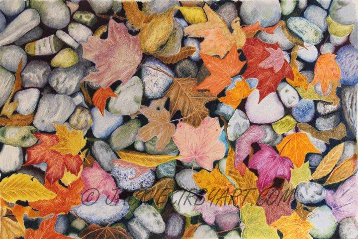 Leaves & Pebbles on Icarus Board