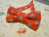 Made Oliver a bow tie to wear at my brother's wedding.