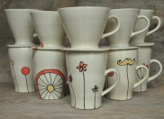 pour-over coffee mug sets