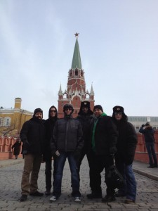 Jackiem in Moscow