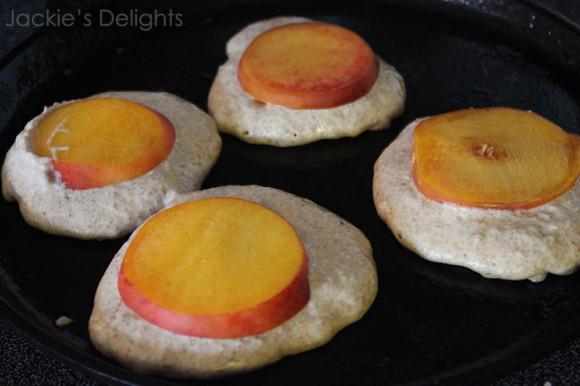 peach pancakes.4