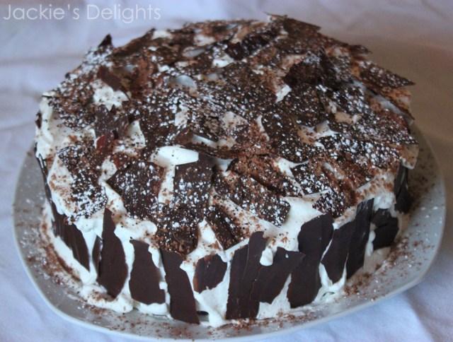 mocha layer cake.3