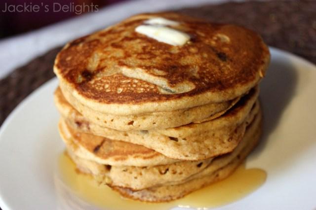 Chocolate chip pancakes.4