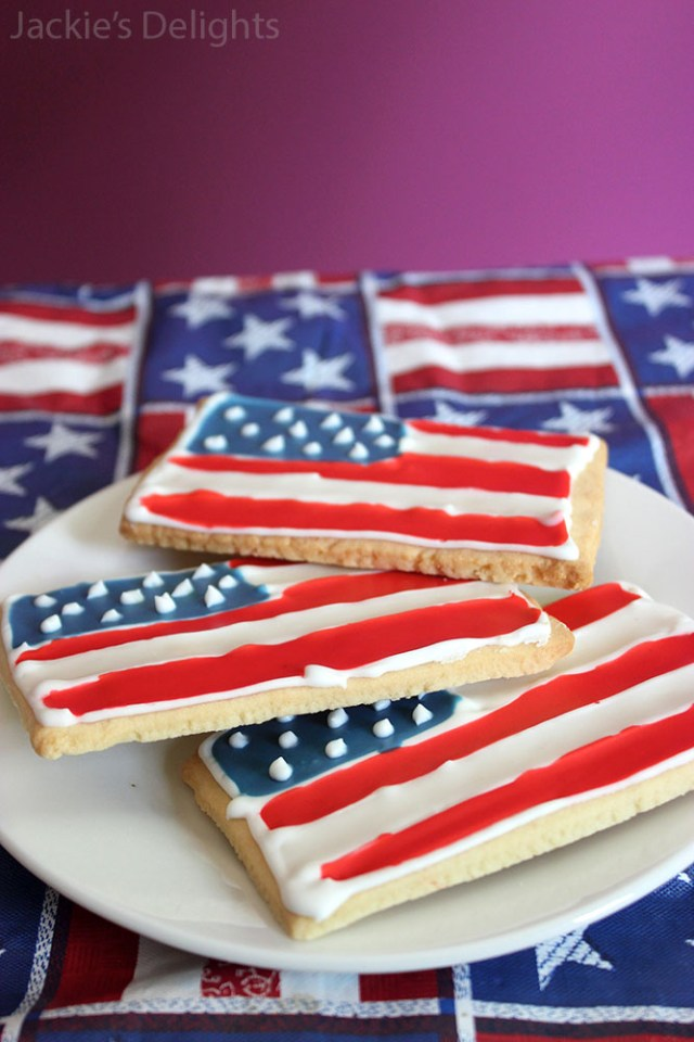 flag sugar cookies.2