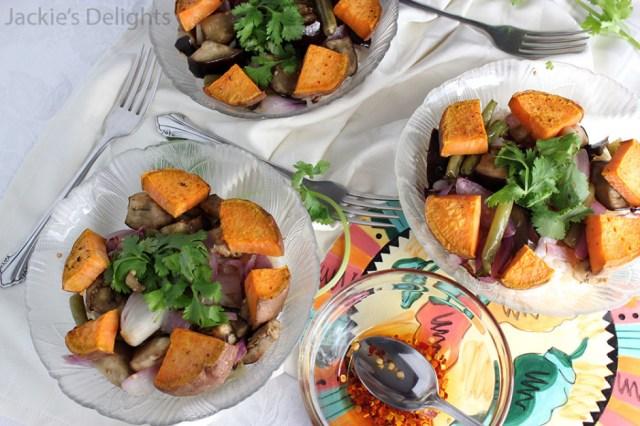 eggplant rice bowl.5