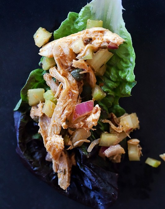 Sonoran Style Mexican Spicy Chicken Salad