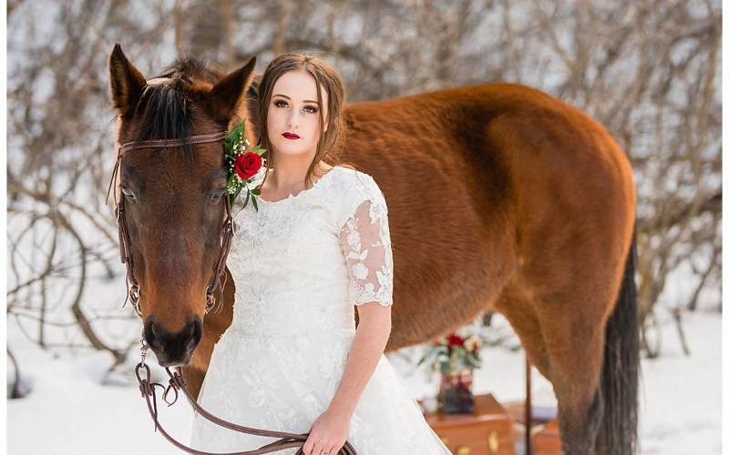 Styled Wedding/Snow White | Logan Utah Wedding Photographer